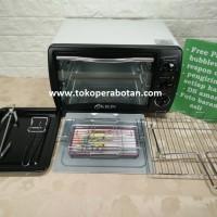 Best Seller Oven Listrik Kirin 190RAW 19lt Bonus Fish Grill Termurah