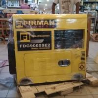 Genset silent diesel Firman FDG 9000 6000 Watt