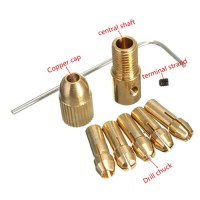 Drill Chuck Set for Small Electric Drill 8 Pcs - 0.5-3mm