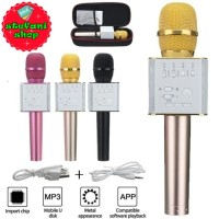 Mic Karaoke KTV Q9 Bluetooth Wireless Microphone With Speaker Karaoke