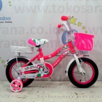 12in Evergreen Lily CTB Sepeda Anak Perempuan Usia 2 - 4 Tahun