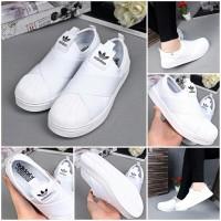 Sepatu wanita Adidas Superstar Slip On Shoes 50208