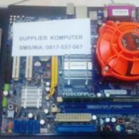 Paket Motherboard Lga 775 G31 Core 2 Duo E8600 3 33 Ghz Fan