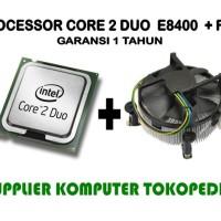 Intel Core 2 Duo Processor E8400 FAN 6M Cache 3 0 GHz 1333 FSB