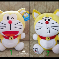 Jual boneka doraemon kuning limited edition lucu murah ori original Murah