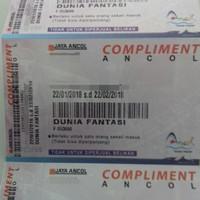 tiket dufan + tiket masuk ancol
