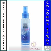 MUSK BY LILIAN ASLHEY BODY MIST 100ML : COOL PARFUM ORIGINAL MURAH