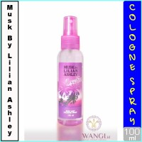 MUSK BY LILIAN ASLHEY BODY MIST 100ML : EXOTIC PARFUM ORIGINAL MURAH
