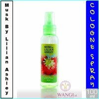 MUSK BY LILIAN ASLHEY BODY MIST 100ML : FRESH PARFUM ORIGINAL MURAH