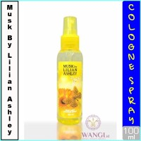 MUSK BY LILIAN ASLHEY BODY MIST 100ML : JOY PARFUM ORIGINAL