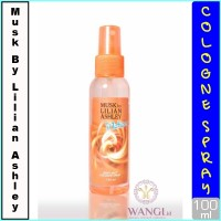 MUSK BY LILIAN ASLHEY BODY MIST 100ML : MOTION PARFUM ORIGINAL