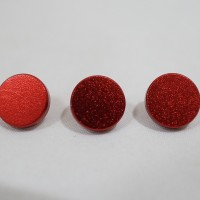 Metal Soft Shutter Release Button Plane Tombol Shutter Kamera Flat Red