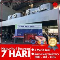 JAPAN HOKURIKU ARCH PASS 7 HARI (DEWASA) | JR Hokuriku Jepang