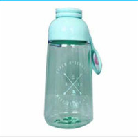 Botol Minum Plastik Lucu - Biru