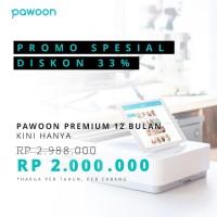 Promo Spesial - Pawoon POS Premium 12 Bulan - Diskon 33%