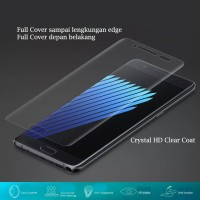 Samsung Note FE Crystal HD Clear Coat Screen Protector Full Layar