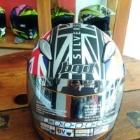 Helm Half Face AVA Speed-R, GP Edition silverstone.