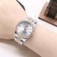 Jam Tangan Wanita Rolex Semi Ori / Jtr 1172 Kombinasi Rose
