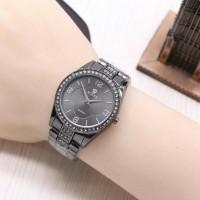 Jam Tangan Wanita Rolex Semi Ori / Jtr 1172 Hitam