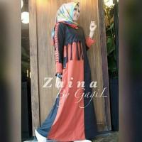 Baju muslim/hijab simple/hijab ootd/baju muslim 2018 - Zaina