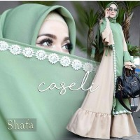 Baju lebaran 2018/fashion muslim/toko baju muslim/hijab simple - Cas