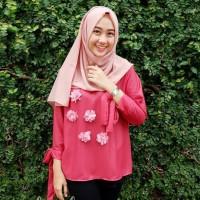 Baju muslim 2018/hijab simple/nonihijab/ootd hijab - Mels blouse