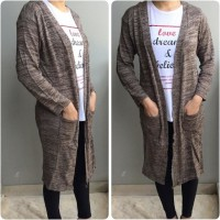 Bagus31-00 Cardigan Murah / Outer Hijab / Baju Lengan Panjang Terbaru