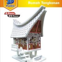 3D Puzzle Rumah Tongkonan