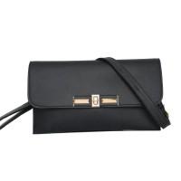 Tas Fashion Wanita jalan Hitam Selempang Shoulder Bag