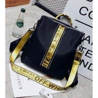Tas Jinjing | Tas Ransel Hitam | Tas Fashion Cewek Backpack