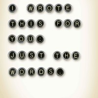 I Wrote This For You: Just the Words (Iain Thomas, Jon Ellis) [eBook]
