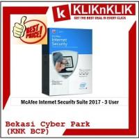 McAfee Internet Security Suite 2017 - 3 User
