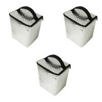 Harga eelic cob 24cm isi 3 pcs cool bag tas makanan berbahan aluminium   Pembandingharga.com