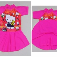 RNKD74 - Baju Renang Anak Diving Rok Hello Kitty and Dolls MURAH