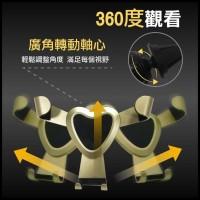 Air Vent Smartphone Car Holder Desain Love - Black