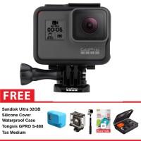 Gopro Hero 5 Black + Free Aksessories Kamera
