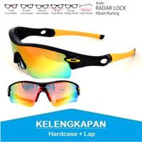 Sunglass Kacamata Hitam SOA Radar Lock Plastik
