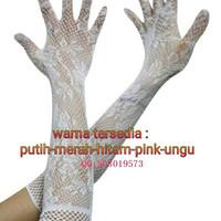 Wedding Gloves - Sarung Tangan Pengantin Bridal - Jala kembang.