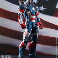iron patriot hot toys ht hottoys ironman misb 1/6 diecast