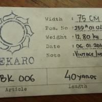 Kain Denim atau Selvedge Flat finished bk0u
