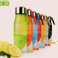H2O infused water bottle / botol infus mirip tritan / citrus