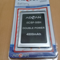 Baterai Advan i5c/bp-50bh/battrey/batrai/batre hp ori/ Double power
