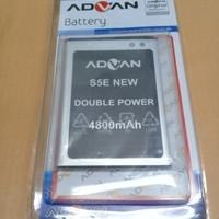 Baterai Advan S5E New/Double Power/battrey/batrai/batre hp/ori