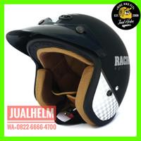 Helm Retro/Helm Classic/Helm Bogo/Helm Vespa/Helm Ava Motif Racing