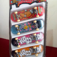 TECH DECK - 4 PACK - KROOKED - MURAH