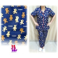Piyama / Pajamas Cp Teddy Bear Navy