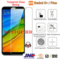 Tempered Glass Anti Gores Kaca Clear Hp Xiaomi Redmi 5+ - Redmi 5 Plus