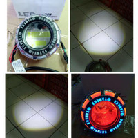 projie led 2light high low logo yamaha,honda,motogp,monster