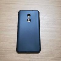 Case Xiaomi Redmi Note 4 Note 4X Softcase Cocose Polos Hitam