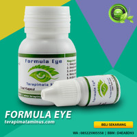 Herbal Mata Minus Dan Silinder Herbal Formula Eye Kapsul Obat Tetes